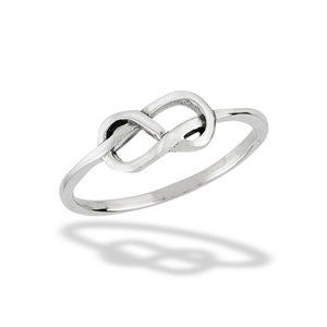 Princess Kylie 925 Sterling Silver Celtic Abstract Style Ring